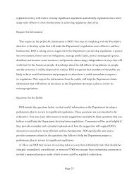 Department Of The Interior Doi Department Of The Interior Preliminary Regulatory Reform Plan