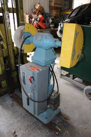 Bench Mounted Buffer Pedestal Grinders Inter Plant Sales Machinery