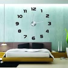 Giant Wall Clock Wall Clock Sticker India