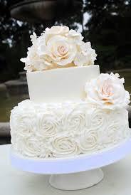 wedding cake gum rosette wedding cake with gum paste or sugar flowers sugar roses