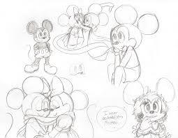 mickey minnie mouse doodles carurisa deviantart