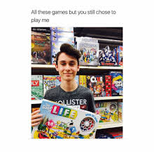 Play All The Games Meme - all these games but you still chose to play me escendants ly lister