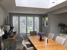 Plantation Shutters For Patio Doors Plantation Shutters For Bi Folding Doors The Shutter Studio