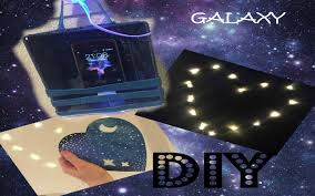 Galaxy Room Decor phone charger coaster thing and lamps Collab