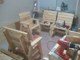 Jack And Jill Chair Plans by How To Build 2 Outdoor Arm Chairs And A Side Table Jays Custom