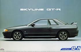nissan skyline on ebay aoshima 1 24 scale model car kit nissan skyline gt r r32 w