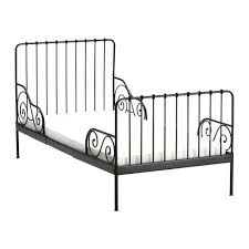 black metal twin bed frame ikea iron daybed heartland aviation