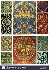 byzantine ornament byzantine textiles stock photo royalty free