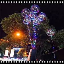 christmas lights bubble l 2018 luminous led balloon led air balloon string lights round bubble