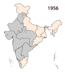 India States Map How The Map Of India Was Redrawn On The Lines Of Language