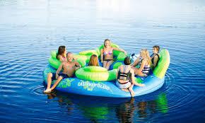 7 person max floating sofa castaway island ho sports