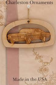 engraved 67 chevy impala ornament free personalization impala