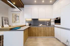 Kitchen Apartment Decorating Ideas by Apartment White And Wood Colored Small Kitchen Decor Ideas And