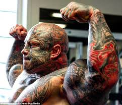 danish weightlifter jens dalsgaard has 40 tattoos and weighs 20