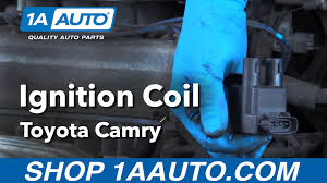 2002 toyota camry ignition coil how to replace install ignition coils 97 01 toyota camry buy