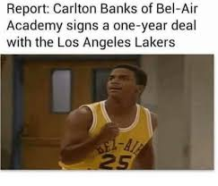 Carlton Banks Meme - report carlton banks of bel air academy signs a one year deal with
