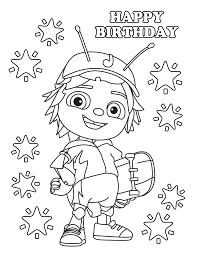 beat bugs printables baby free birthday party favors cartoon