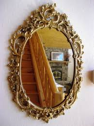 1958 wall mirror syracuse ornamental co syroco wood ornate gold
