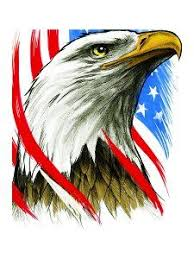 eagle and american flag tattoo design by denise a wells tattoo
