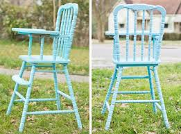 Wooden High Chair For Sale 80 Best High Chair Upcycle Images On Pinterest Painted High