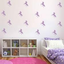 online get cheap unicorn kids room aliexpress com alibaba group 32pcs lot custom color diy unicorn wall stickers kids room decal vinyl art decor mural