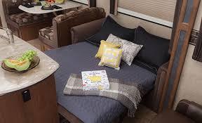 Rv Air Mattress Hide A Bed Sofa Eagle Premier Fifth Wheels Jayco Inc