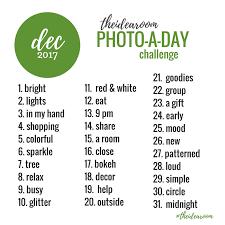 Challenge Instagram December Photo Instagram Challenge 2017 The Idea Room
