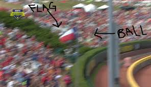 Flag Pole Workout A Texas Little Leaguer Homered Off The Texas Flag Pole To Give His