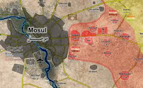 Instagram Map Map Update Anti Isis Forces Readying To Wide Scale Storm Of Mosul