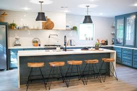 fixer blue kitchen cabinets fixer photos transitional kitchen by