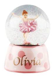 Personalized Ballerina Jewelry Box Personalised Ballet Gifts