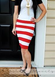 striped pencil skirt dress ala and white striped skirt skirt ify