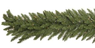 vickerman camdon fir pre lit led garland trees