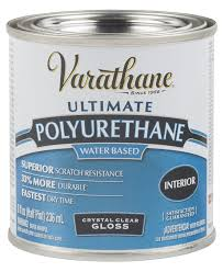 rust oleum varathane 200261h 1 2 pint interior crystal clear water