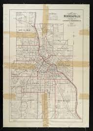 Minneapolis Zip Code Map by Historical Maps Standish Ericsson Neighborhood Association