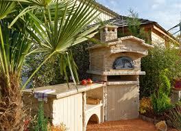 cuisine d été cuisine d été d extérieur en reconstituée avec angle