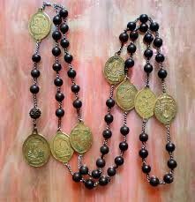 seven sorrows rosary servite or seven sorrows rosary 1800 s rosary