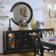 american drew camden dark china buffet credenza with 2 glass