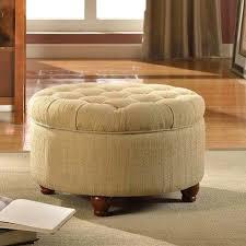 ottoman large storage ottoman round large round button tufted