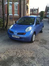 blue nissan micra good condition pale blue nissan micra 53 plate in didsbury