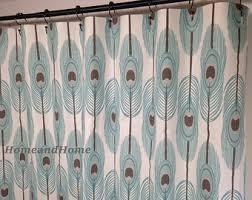 72 X 78 Fabric Shower Curtain 78 Inch Curtain Etsy