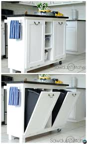 Wooden Kitchen Garbage Cans by 5 Smart Ways To Hide Your Kitchen Trash Can Wood Kitchen Trash Can