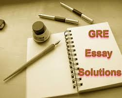 Examples Of Gre Essays Free Gre Awa Essay Solutions1 Jpg