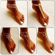 ankle cuff bracelet images Jewels feet accesoires jeans jewelry foot chain anklet gold jpg