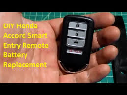honda accord fob battery diy honda smart entry remote battery replacement diycarmodz