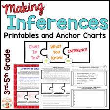 making inferences worksheets no prep printables by kirsten u0027s