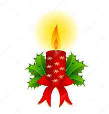 christmas candle vector u2014 stock vector glopphy 42753329
