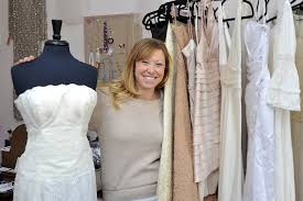 wedding dresses portland meet alison lindkvist wedding dress recycler portland press herald