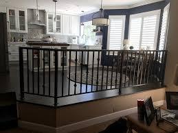 wrought iron balcony railing and hand railing in folsom ca