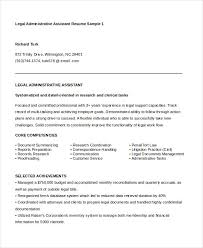 Resume Example For Administrative Assistant by Administrative Assistant Resume 14 Free Word Pdf Psd